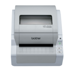 BROTHER TD-4000 + Flash disk 64GB