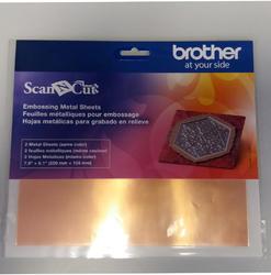 BROTHER Bronzový kovový list pro embos (2 ks)