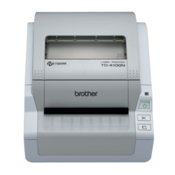 BROTHER TD-4100N + Power Banka 10000 - 1