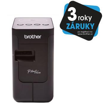 BROTHER PT-P750WSP + 4 pásky - 1
