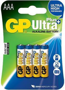 GP AAA Ultra Plus, alkalická LR03 - 4 ks