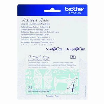 BROTHER Karta 04 - krajkové vzory