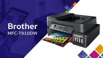 BROTHER MFC-T910DW + Power Banka 8000 - 5
