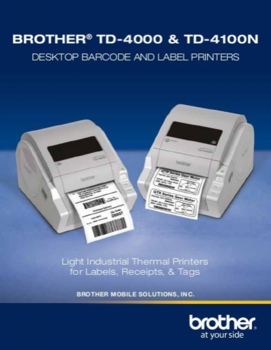 BROTHER TD-4000 + Power Banka - 6