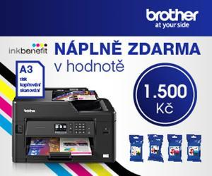 E-Brother - Náplně k A3 benefit ZDARMA - - elektronický obchod s originálními přístroji a servisní středisko BROTHER