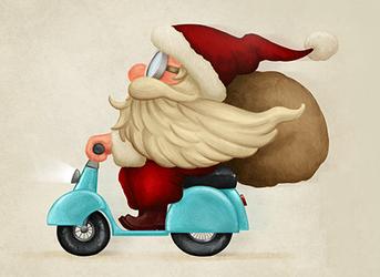 Doručení zboží do Vánoc