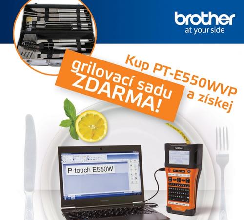 E-Brother - GRILOVACÍ SET ZDARMA - - elektronický obchod s originálními přístroji a servisní středisko BROTHER
