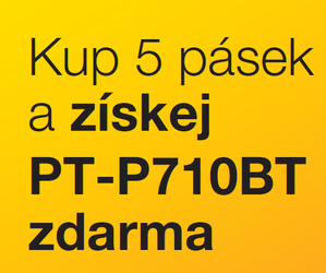 E-Brother - Za 5 pásek POPISOVAČ ZDARMA !!! - - elektronický obchod s originálními přístroji a servisní středisko BROTHER