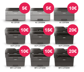 E-Brother - Slevy na mono laserové tiskárny - - elektronický obchod s originálními přístroji a servisní středisko BROTHER