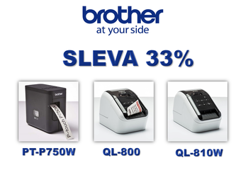E-Brother - SLEVA na šťítkovače  - - elektronický obchod s originálními přístroji a servisní středisko BROTHER