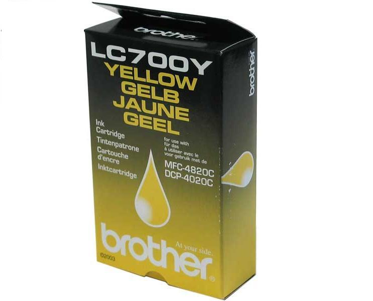 BROTHER LC-700Y - originál